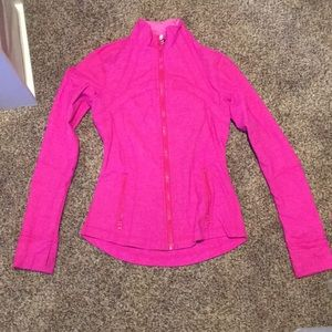 LAST CHANCE Great condition Pink Lululemon zip up